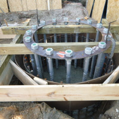 Caisson Reinforcing Steel